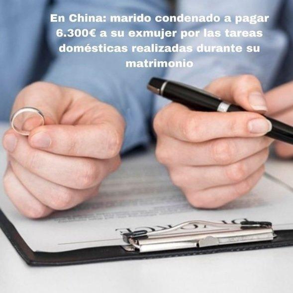 El régimem económico matrimonial en china (REM) en caso de divorcio. ¿Es similar el  REM chino al  español ?